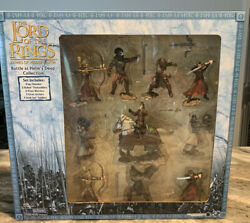 Lord Of The Rings Armies Of Middle Earth Battle At Helms Deep Collectionsealed