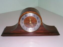 Vintage Elgin 82 Welby Division 2 Jewels Chime Mantel Clock Germany 340-020