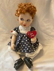 Vintage I Love Lucy Baby Doll-with Lollipop-immaculate Condition
