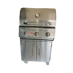 Bull Outdoor Products Steer Stainless Steel Gas Bbq Grill Head Ng With Cart