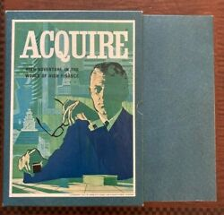1962 Aquire 3m Board Game Adventure The World Of High Finance Vintage Complete