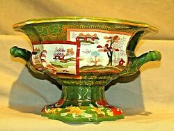 Antique Mason's Patent Ironstone Open Footed Serving Bowl Tureen 10.5 C.1845-48