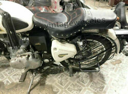 Fit For Royal Enfield Classic And Bullet 350 - 500 Cc Customised Tourer Seat Black