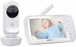 Motorola Baby Ease 35 Baby Monitor Video With Screen Hd Of 50 Inches With Zoom