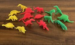 Lot Of 16 Timmee New World Dinosaurs And Prehistoric Monsters Marx Style Molds
