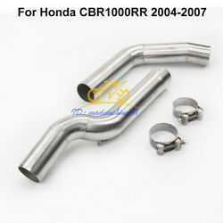 For Honda Cbr1000rr 2004-2007 Motorcycle Exhaust Link Pipe Connect Section Slip