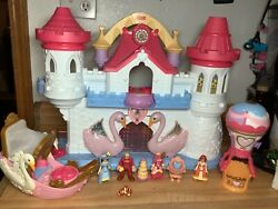 Fisher Price Precious Places Swan Princess Palace W/ Sounds And Lights