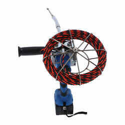 Cable Threading Machine Automatic Electric Set Plumber Wire Puller Pulling Tool