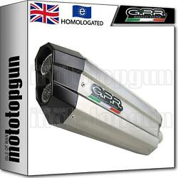 Gpr Full System Exhaust Homcat Sonic Stainless Steel Yamaha T-max 530 2017 17