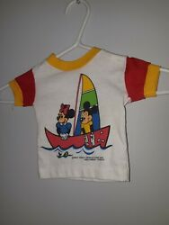 Harley Walt Disney Productions 1984 Used Under Licence Baby T-shirt Size 12