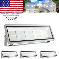 4x 1000w Cool White Superbright Waterproof Led Flood Light Outdoor Security Work