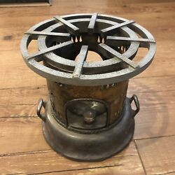 Antique Vintage Silver Plated Paraffin Oil Stove Cooking Stove Parts