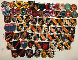Patch , 70 Patches Free 3 , Beret Flashes , Recon , Arvn , Usn , Ussf , .