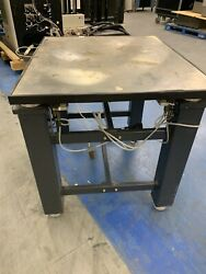 Kinetic Systems Vibraplane Isolation Table 1201-01-12 W/ 35 X 30 Heavyduty Top