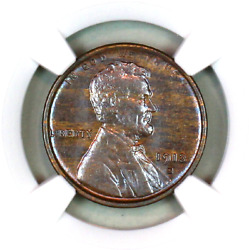 1913-s Ms63 Bn Ngc Lincoln Wheat Penny Superb Registry Quality Collection