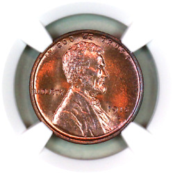 1915-d Ms65 Rb Ngc Lincoln Wheat Penny Superb Registry Quality Collection