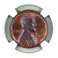 1916-d Ms63 Rb Ngc Lincoln Wheat Penny Superb Registry Quality Collection