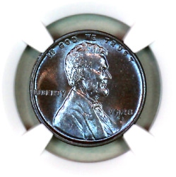 1928-d Ms65 Bn Ngc Lincoln Wheat Penny Superb Registry Quality Collection