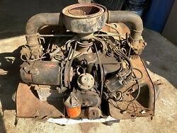 1960 Corvair Engine 80hp T0330y 6256711 Used Not Running Original Parts
