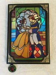 Beauty And The Beast Bell Notebook Disney Stained Glass Storybook Journal 2021