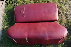 1946 1947 1948 Dodge D24 Custom Deluxe Rear Seat Assembly Back Seat 46 47 48 Oem
