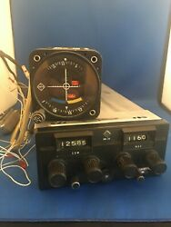Narco Radio Mk24 Nav/com With Tray And Connectors 28v Narco Voa-9 With Wiringandnbsp