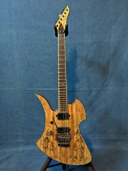 Bc Rich Mockingbird Extreme Exotic Left-handed Andndash Spalted Maple