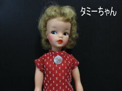 Antique Ideal Tammy Chan Doll Dress Up Red Shoes Vintage Soft Vinyl From Japan
