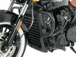 Indian Scout / Sixty Engine Guard - Black Hepco And Becker From 2015