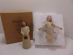 Willow Tree Demdaco 'blessings' Figurine 26186 With Box And Angel Of Light
