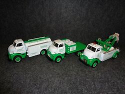 Cities Service 1952 Gmc Fuel Tanker Stake Truck And Tow Wrecker First Gear Diecast