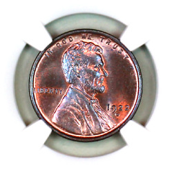1922-d Ms65 Rb Ngc Lincoln Wheat Penny Superb Registry Quality Collection