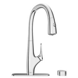 300 Gallon Single-handle Pull Down Sprayer Kitchen Faucet Led Indicator New