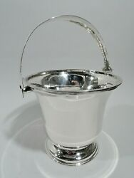 Modern Ice Bucket - Stylish And Portable Barware - Mexican Sterling Silver