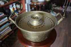 Antique Chinese Metal Bowl Old And Rare