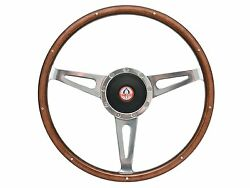 1968 - 1978 Ford Mustang Shelby Style Steering Wheel Kit   Gt-350 Emblem