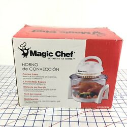 New Opened Magic Chef Mcsgc07w 7 Liter Capacity Convection Oven 750w Glass Bowl