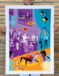 Josh Agle Shag Marty Mcfly Serigraph Art Print Poster S/ 200 Back To The Future