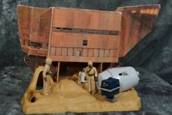 1979 Kenner Star Wars Land Of The Jawas Playset Near Complete W/ Free Shipping