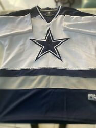 Preowned Nfl Team Apparel Nfl The Dallas Cowboys Longsleeve T-shirt Size Large
