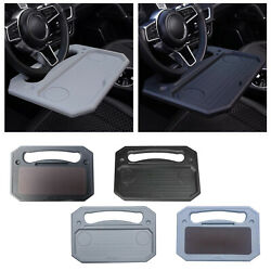 Portable Car Steering Wheel Tray Desk For Snack Dining Fits Most Vehicles