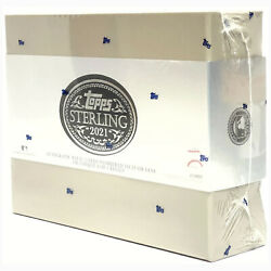 2021 Topps Baseball Sterling Box New Sealed   Rare Htf   2 Cards Only   Hits