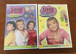 Lizzie Mcguire Dvd Lot Totally Crushed And Fashionably Lizzie Disney Dvd