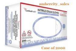 Flexal Nitrile Exam Gloves Latex Free Non-sterile Case Of 2000 By Cardinal