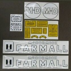 International Harvester Farmall Md Tractor Decals 1945 To 1952