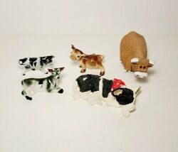 Cattle Lot Collectibles Hagen Renaker Sculpted Clay Porcelain Kathy Wise Enesco
