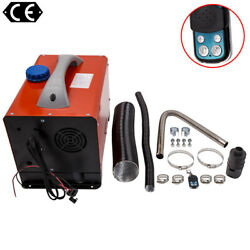Diesel Air Heater 8kw 12v W/one Hole + Lcd Switch All In 1 For Car Suv Caravans
