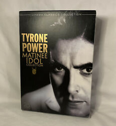 Tyrone Power Collection 2 Dvd 2008 5-disc Set. Rare. Matinee Idol Collection