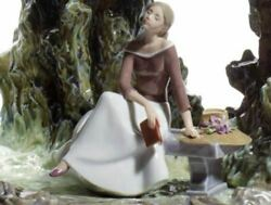 Lladro Vintage Retired 01008597 Enchanted Glade Lady Woman