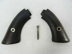 Factory Original Smith And Wesson Model Number One - Tip-up Revolver Grips Antique